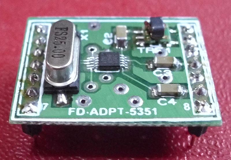 Foxdelta Si5351 10khz To 500mhz Signal Generator Module